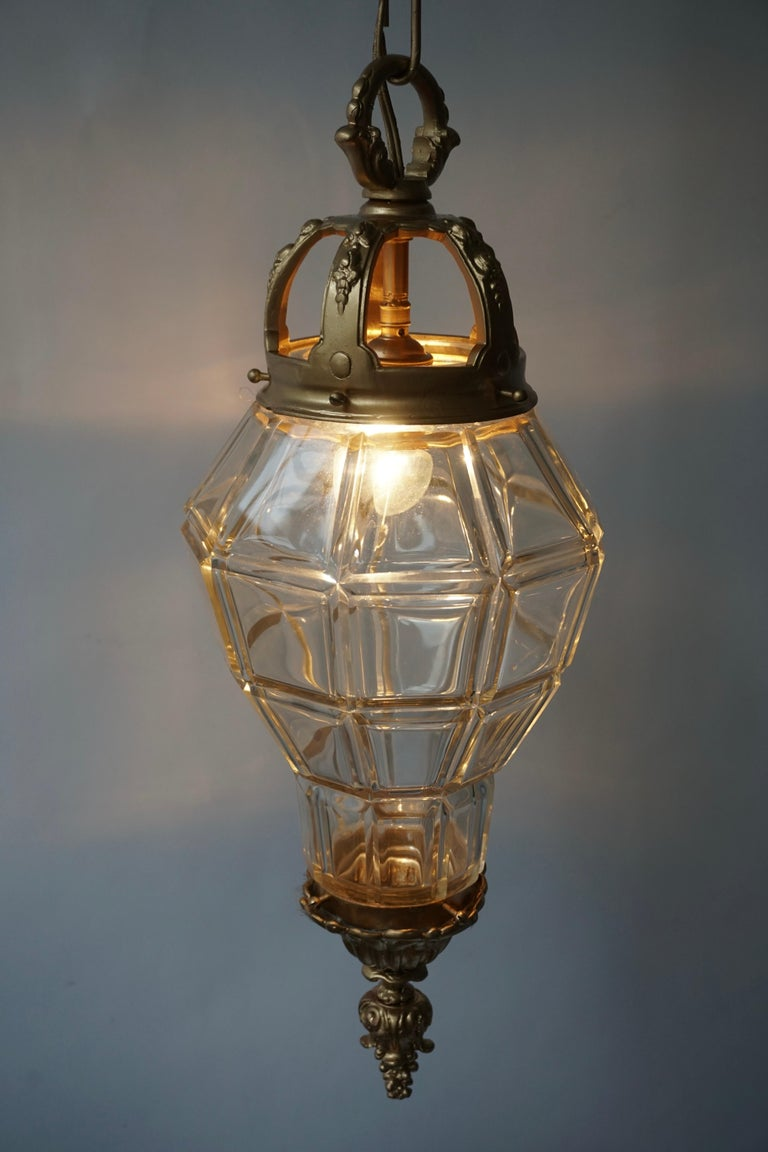 Bronze Lantern In Good Condition For Sale In Antwerp, BE