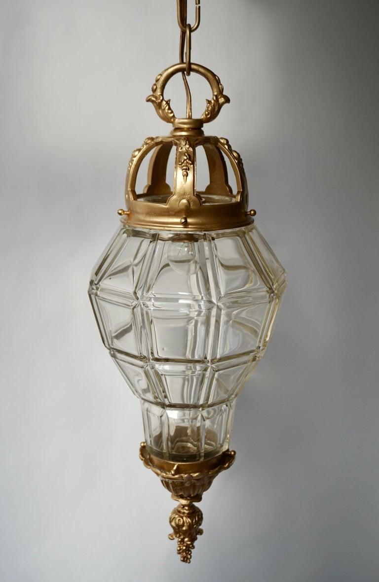 20th Century Bronze Lantern For Sale