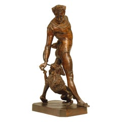Bronze Late 19th Century Sculpture / Statue by George de Chemellier