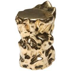 Bronze Lava Stool II