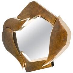 Bronze Mirror by Elie Hirsch, France, 2017