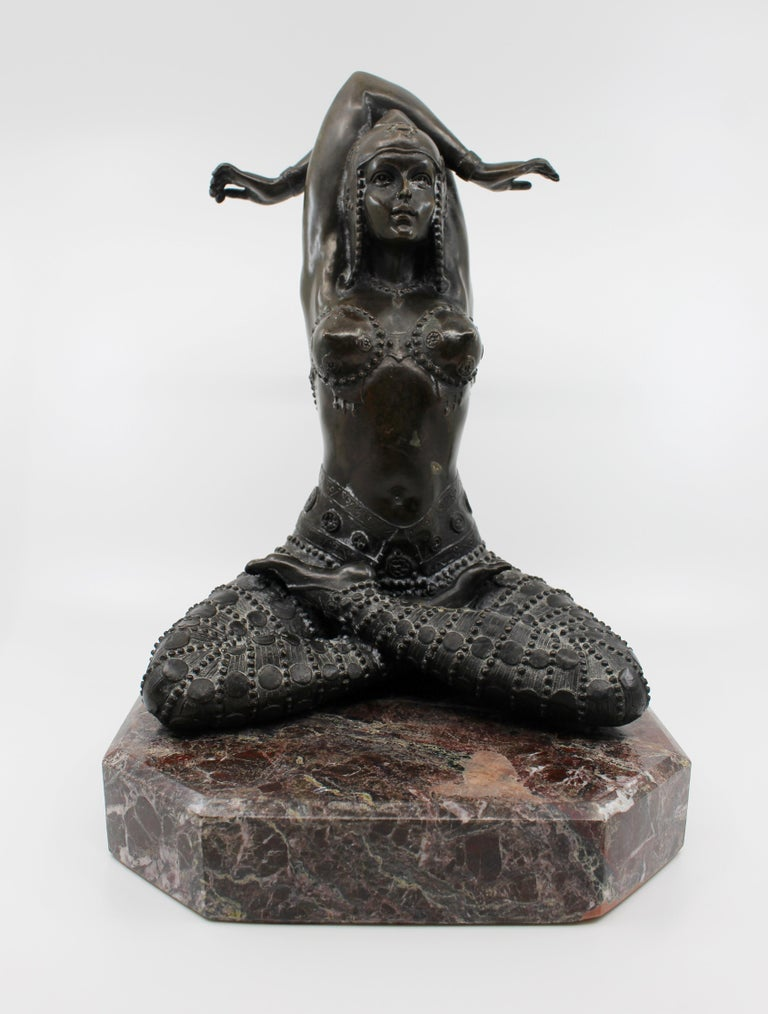 Period mid-late 20th century, Art Deco style