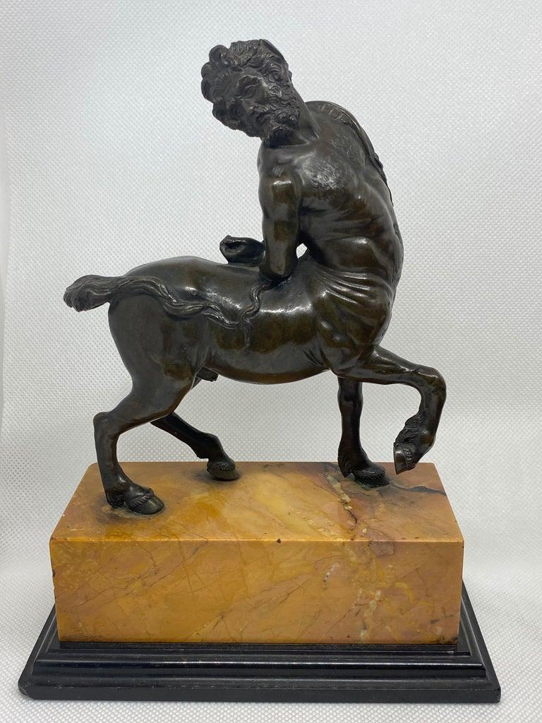 Cast Bronze Pair of the Furietti Centaurs, Italian, 19th Century For Sale