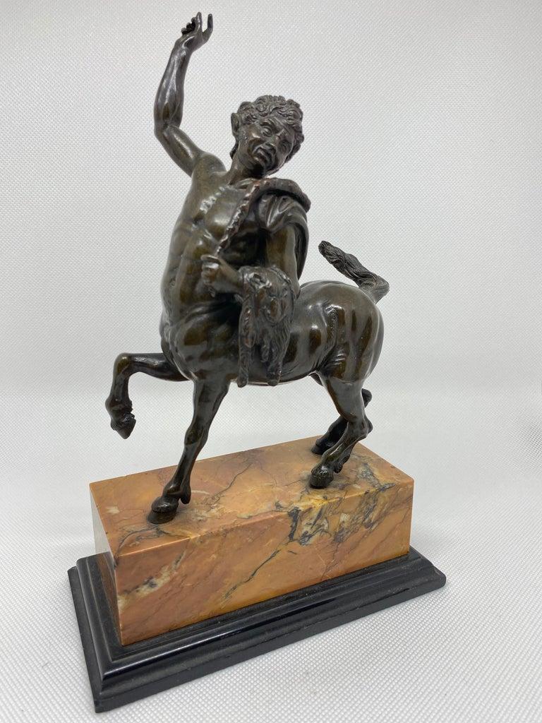 Bronze Pair of the Furietti Centaurs, Italian, 19th Century For Sale 4