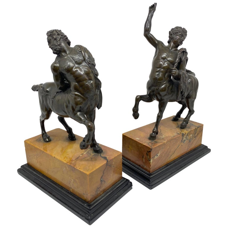 Bronze Pair of the Furietti Centaurs, Italian, 19th Century For Sale