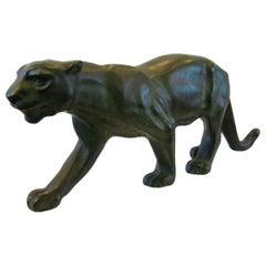 Bronze Panther-Serge Zelikson 1925