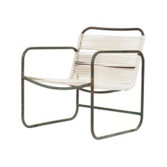 Bronze Patio Lounge Chair by Kipp Stewart Terra