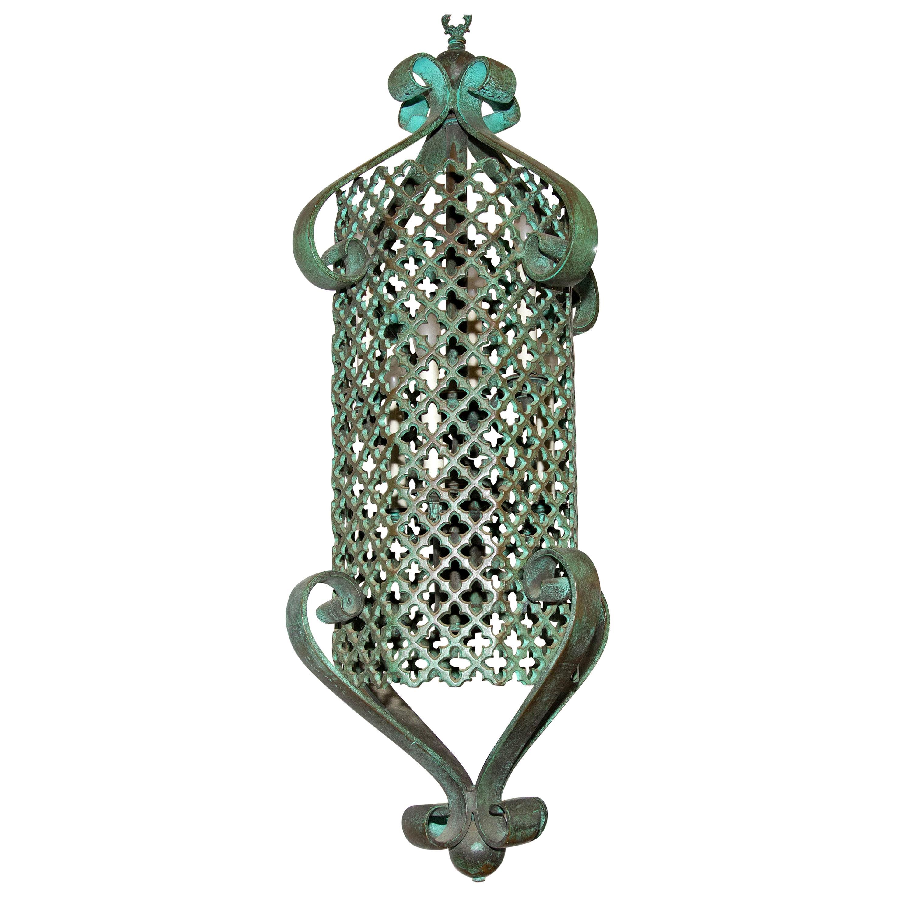Bronze Pendant Chandelier Light