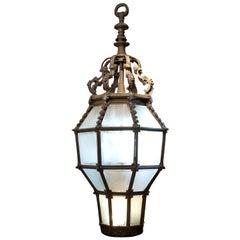 Bronze Porte Cochere Lantern