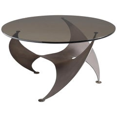 Bronze 'Propellor' Corner Table by Knut Hesterberg