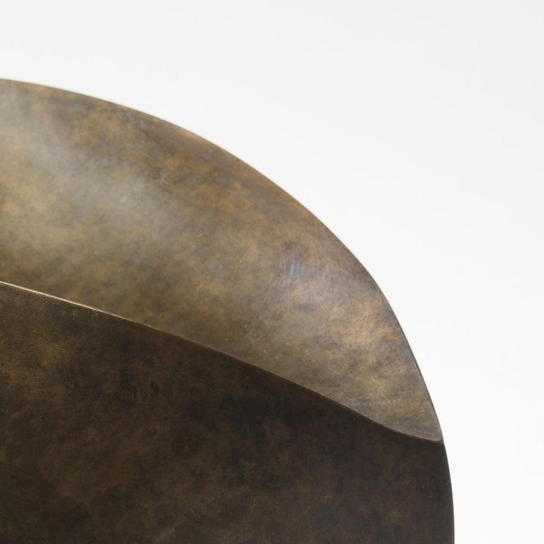 Cast Bronze Sculpture by Ann Van Hoey For Sale