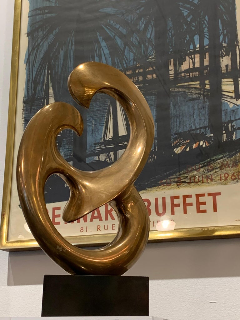 Bronze Sculpture by Antonio Grediaga Kieff, Signed and Numbered For Sale 4