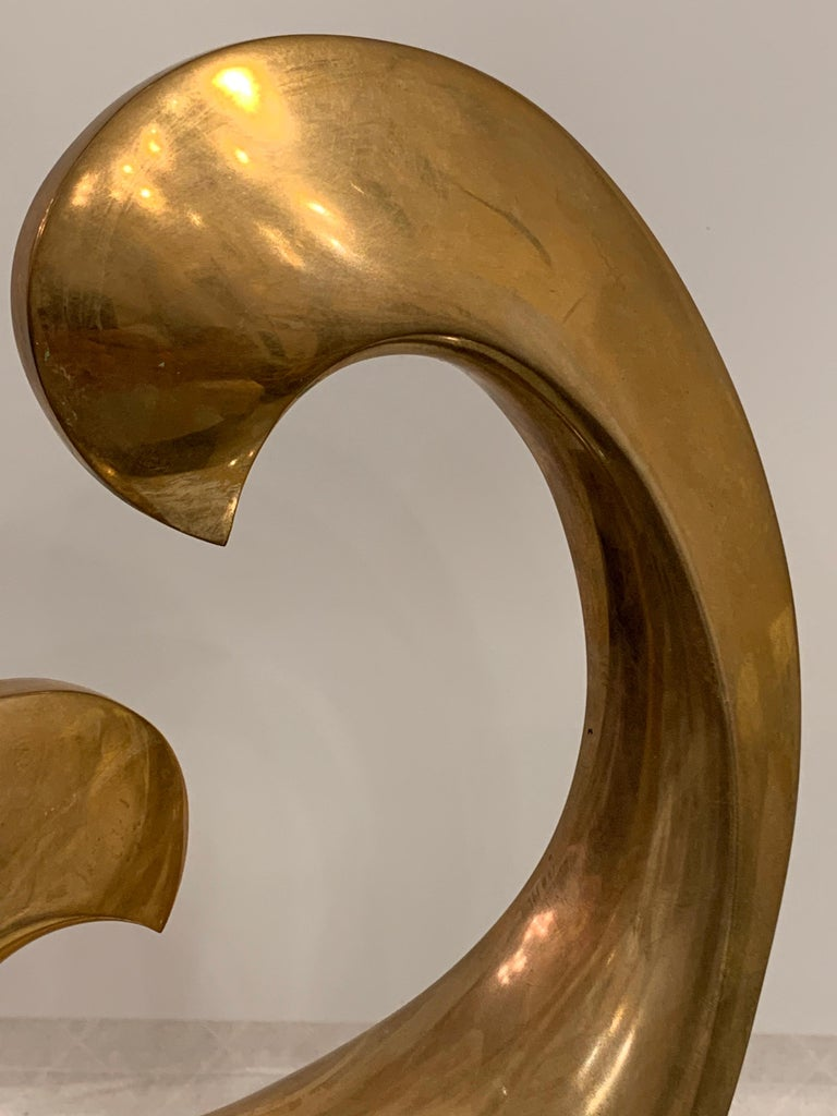 Organic Modern Bronze Sculpture by Antonio Grediaga Kieff, Signed and Numbered For Sale