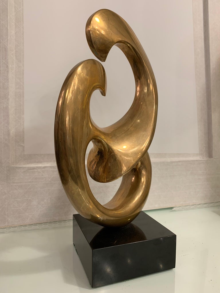 Canadian Bronze Sculpture by Antonio Grediaga Kieff, Signed and Numbered For Sale