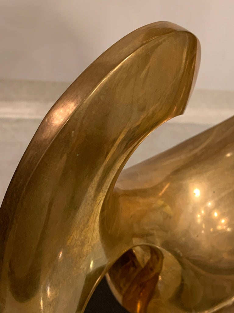 Patinated Bronze Sculpture by Antonio Grediaga Kieff, Signed and Numbered For Sale
