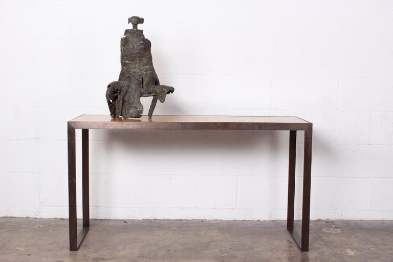 Bronze Sculpture by George Mallett, 1967 In Good Condition For Sale In Dallas, TX