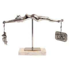 "Bronze Sculpture by James David Berenson Titled ""Temperance"""