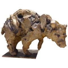 Bronze Sculpture by Jean-François Gambino, Bear, Animal Sculpture