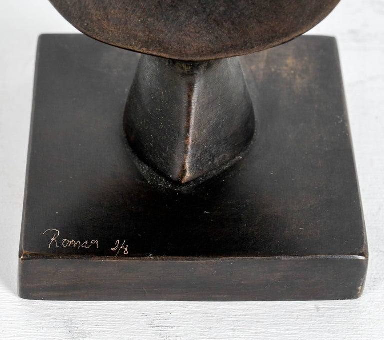 Bronze sculpture by Victor Roman. Signed and numbered 2/8.