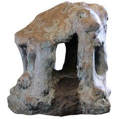 """Bronze Sculpture """"Chapelle de la Mémoire"""" 1994, by Catherine Val"""