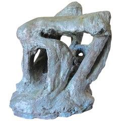 Bronze Sculpture Chapelle du soleilé 1992, by Catherine Val