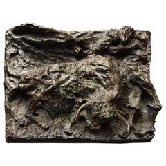 "Bronze sculpture ""Dans l'arène"" by Magdalena Reinharez"