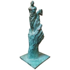 Bronze Sculpture Figures and Hand
