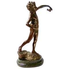 Bronze Sculpture from 1900 Paris Exposition by Giovanni de Martino