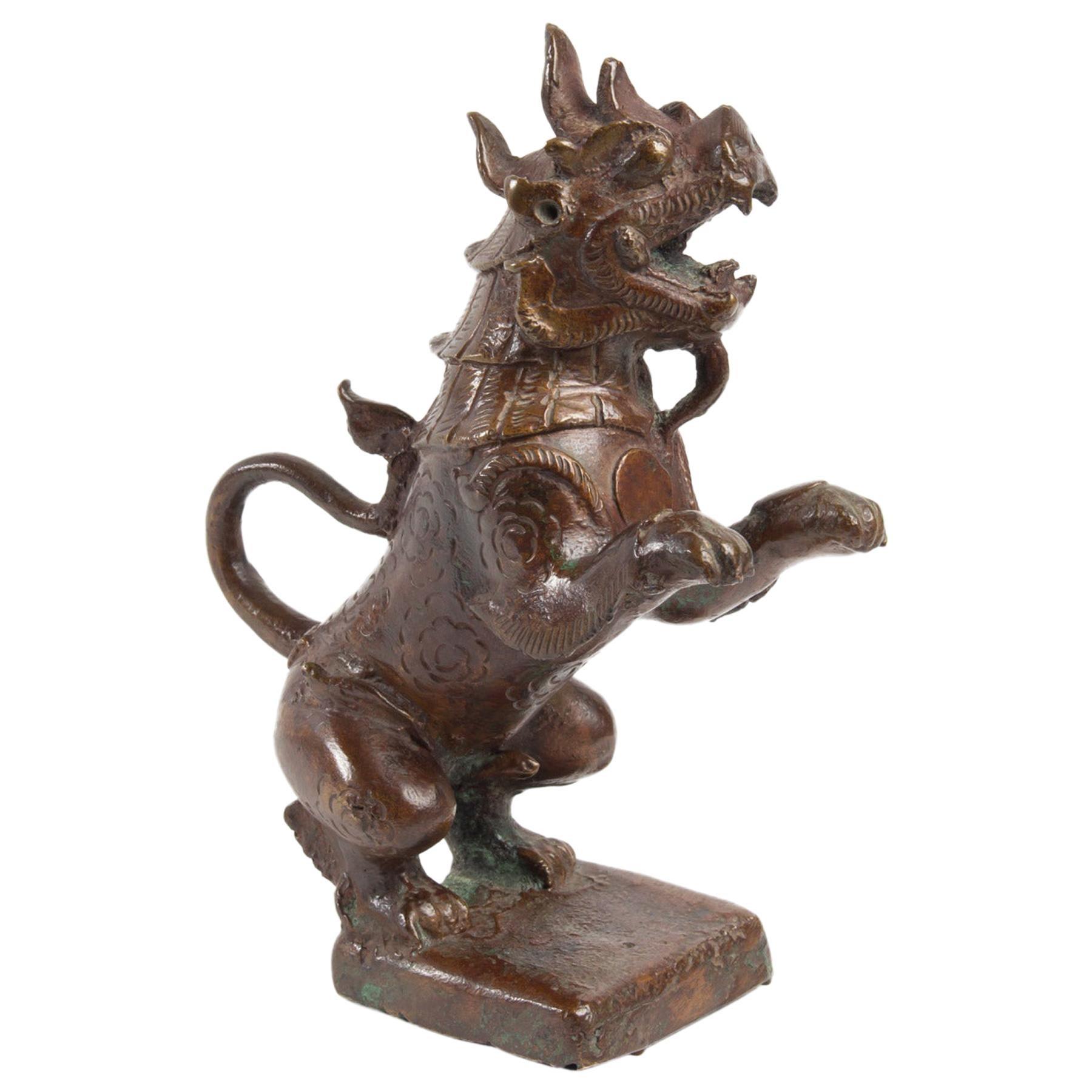 Bronze Sculpture, Late 19th Century, Asia