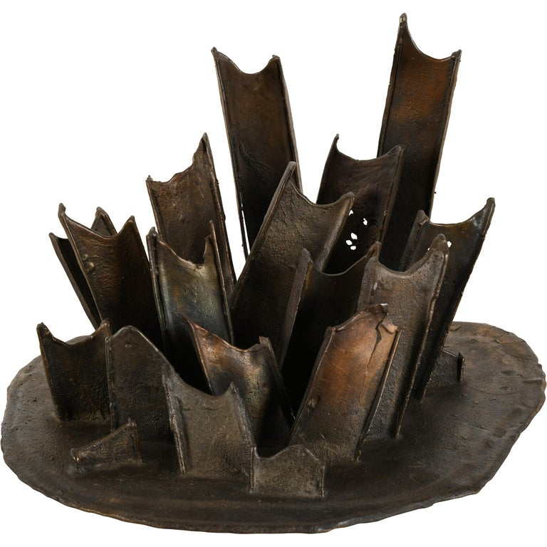 "Bronze Sculpture ""New Nature"" Series by Steve Tobin, 1993"