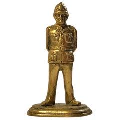 Bronze Sculpture of British Police Officer, 2nd 1946