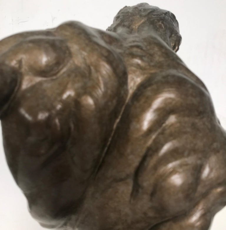 Bronze Sculpture of Gymnast by Richard MacDonald For Sale 4