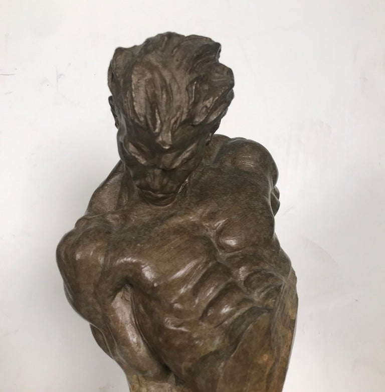 20th Century Bronze Sculpture of Gymnast by Richard MacDonald For Sale