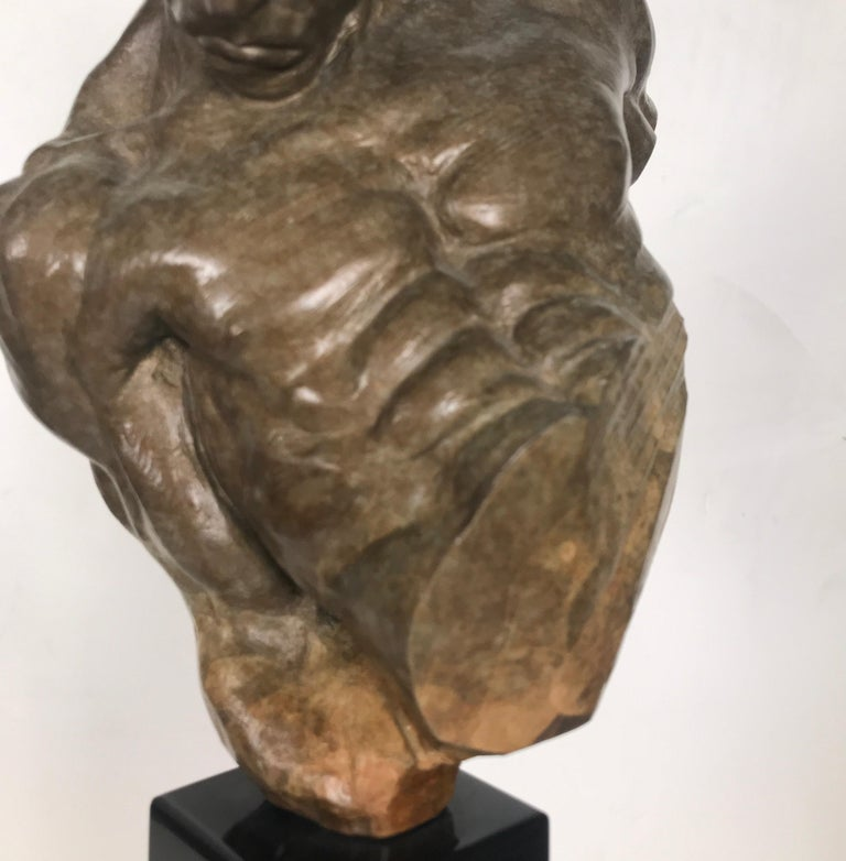 Bronze Sculpture of Gymnast by Richard MacDonald For Sale 1