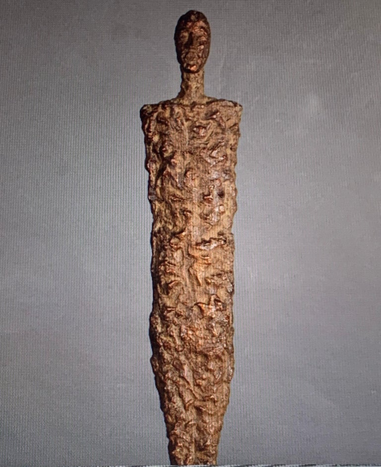 Bronze Sculpture of Male Figure, Indonesia, Contemporary In New Condition For Sale In New York, NY