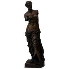 Bronze Sculpture of the Venus de Milo by F. Barbedienne