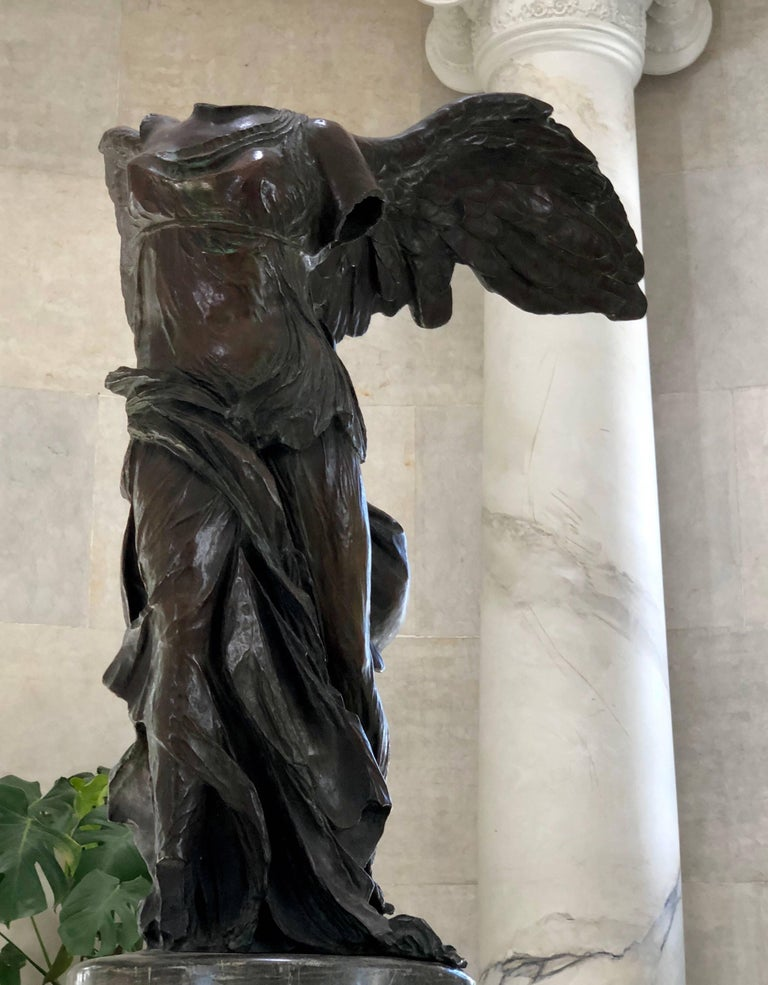 Cast Bronze Sculpture of Victory For Sale