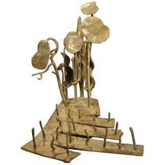 """Bronze Sculpture """"Poggio Rondinella"""" 1996, by Kurtfritz Handel"""