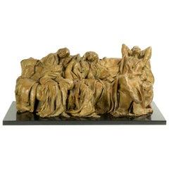 Bronze Sculpture Romantic Dreams by Susanne Vertel