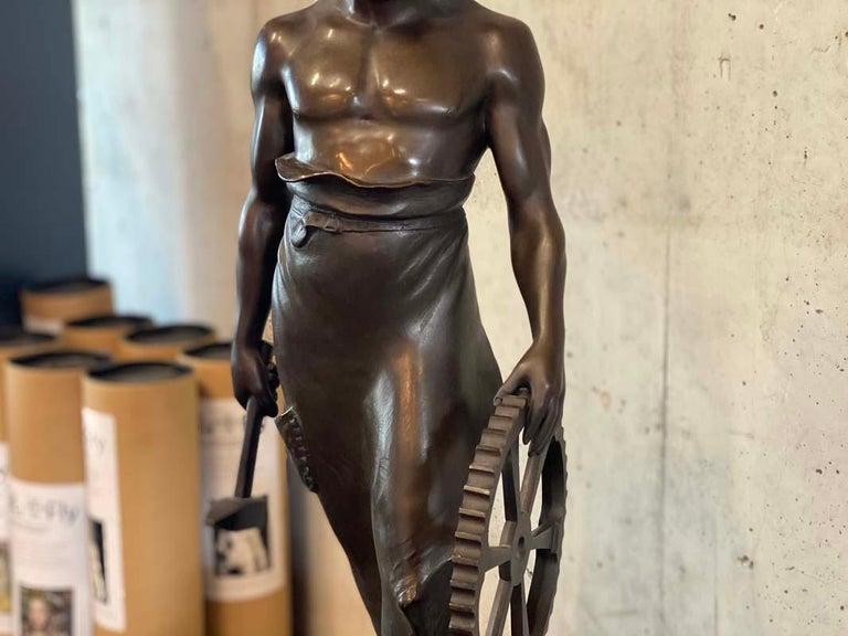 Art Nouveau Bronze sculpture
