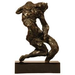 """Bronze Sculpture """"the Damned"""" by Corneliu Ratcu"""