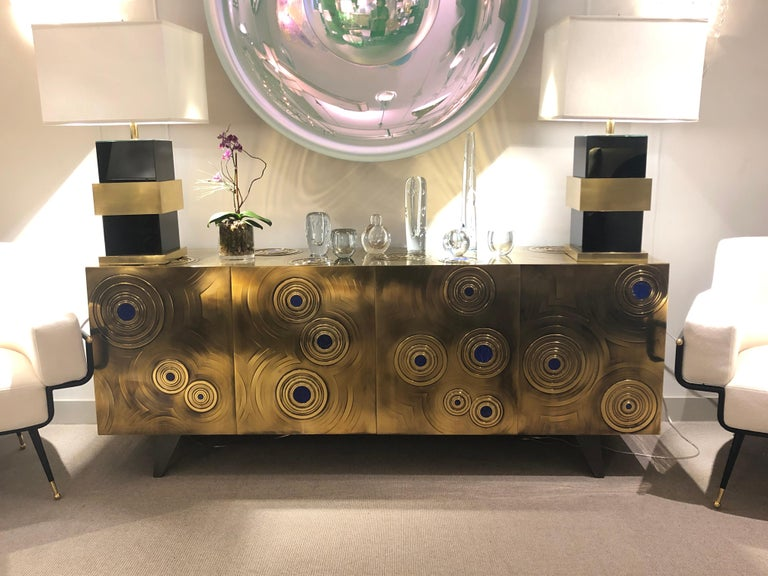 French Bronze Sideboard by Erwan Boulloud, France, 2018 For Sale