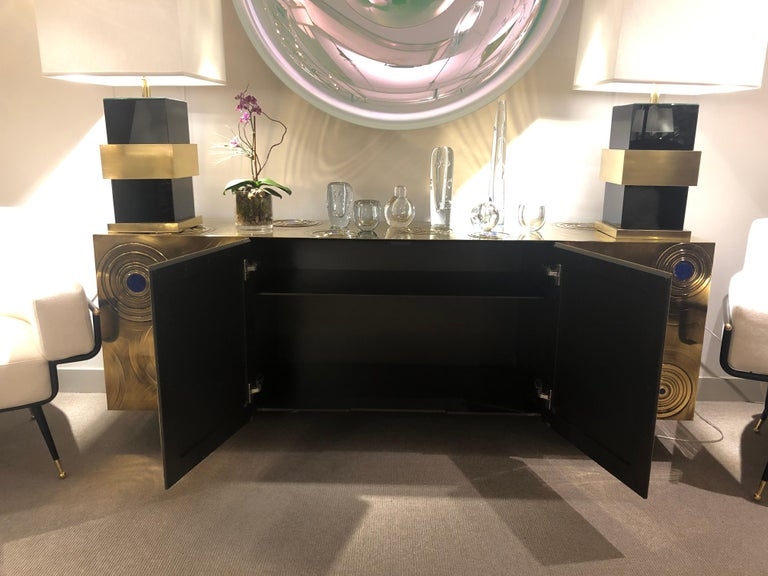 Bronze Sideboard by Erwan Boulloud, France, 2018 In New Condition For Sale In New York, NY