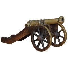 Bronze Signal Cannon