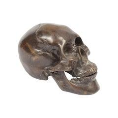Bronze Skull Made in UK in the 1930s