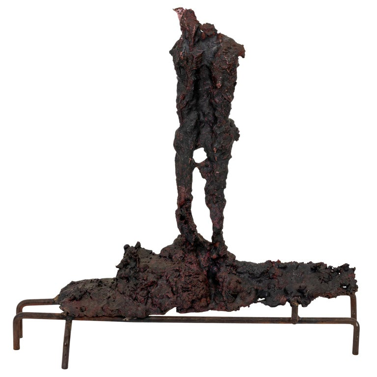 Bronze Spill Cast Sculpture For Sale