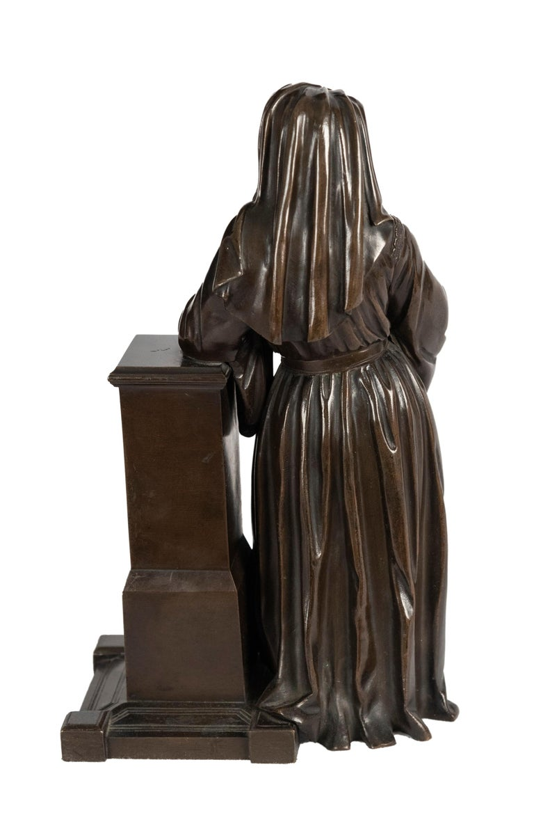 American Bronze Statue of Geoffrey Chaucer For Sale