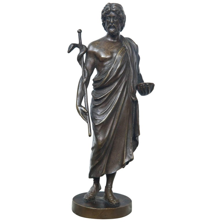 Bronze Statue of Hippocrates For Sale