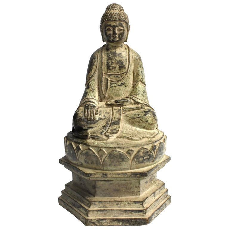 Bronze Statue of Young Buddha For Sale