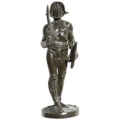 Bronze Statue The Gladiator after Jean-Leon Gerome